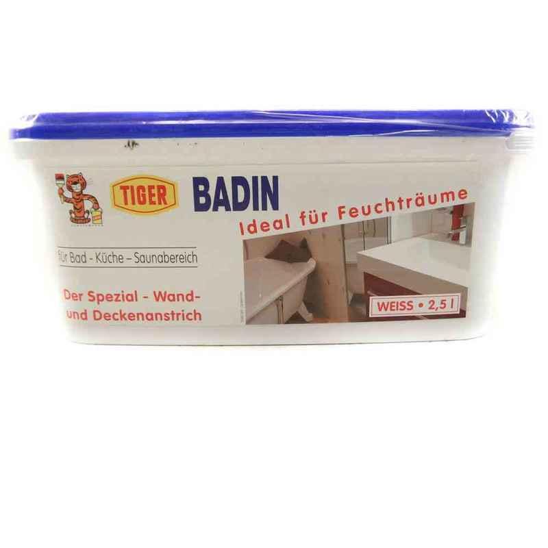 Tiger Bad Küchen Wandfarbe Weiß Tuchmatt 2,5 L