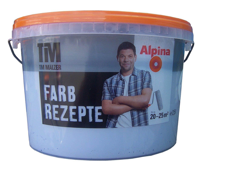 ALPINA Farbe Tim Mälzer Farbrezepte 2,5 L.Matt Farbwahl