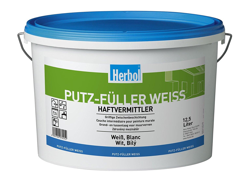 Herbol Putzfüller weiß, 12,5 Liter