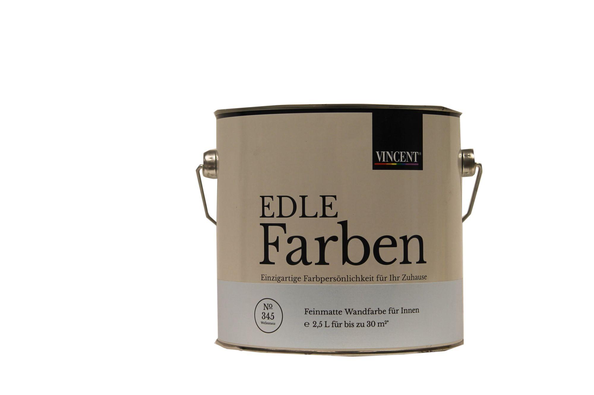 Vincent Edle Farben Feinmatte Wandfarbe innen 2,5 Liter