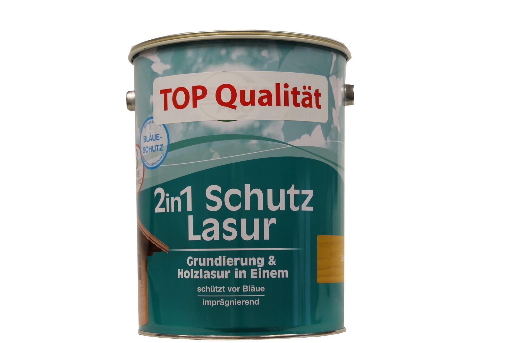 Genius PRO 2in1 Holzlasur Grundierung&Holzlasur Eiche 5 L