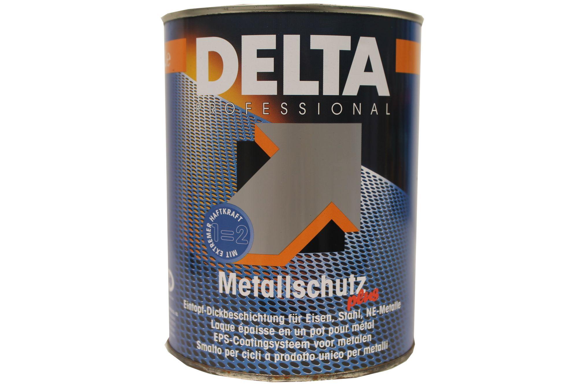 Delta Professional Metallschutz Plus Eintopf-Dickbeschichtung 1 L Farbwahl