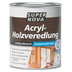 SUPER NOVA AcrylHolzveredelung, teak, 2,5 Liter 001