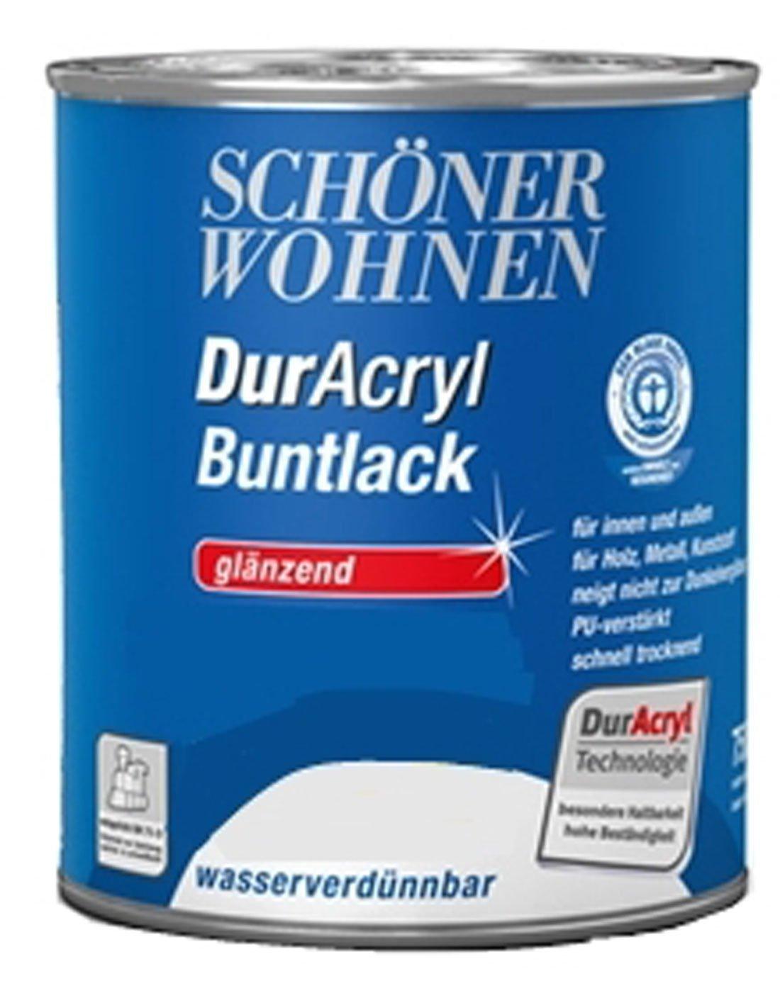 Schöner Wohnen Duracryl Buntlack Glänzend 750 ml Farbwahl