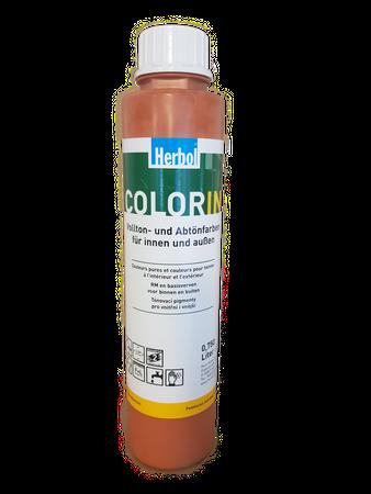 2x0,75 l Herbol Color In Vollton- und Abtönfarbe Matt Innen 1,5 Liter Farbwahl – Bild 4