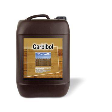 2x5 Liter Carbibol Schadstoffarmer Holzanstrich Wasserbasis Außen Braun 10 Liter