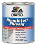 Düfa Kunststoff flüssig strapazierfähige Bodenbeschichtung Bodenfarbe Seidenmatt 750 ml FARBWAHL 001